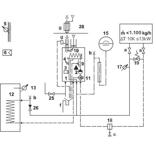 Elco Hydraulikschema SMARTRON Standard 1–6–C