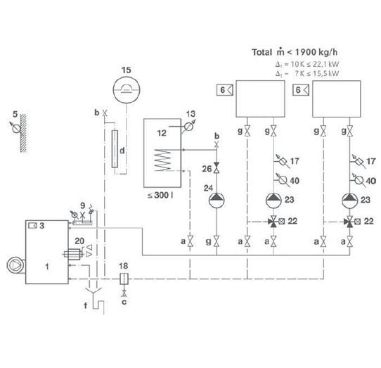 Hydraulikschema STRATON Standard 4-5