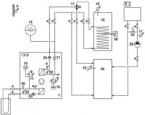 Systemvorschlag AQUATOP TC 1-6-I (Kompaktausführung)
