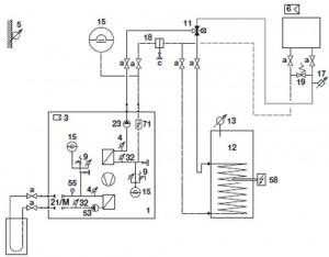 Systemvorschlag AQUATOP TC 1-6 (Kompaktausführung)