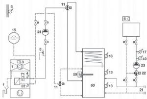 Systemvorschlag Standard AEROTOP (T) 2-6-H (Normalausführung)
