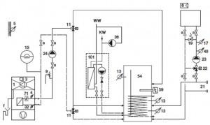 Systemvorschlag Standard AEROTOP (T) 2-6-Q (Normalausführung)