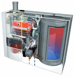 Elco Brennwertgerät Heizung Kessel THISION S COMPACT 17.1M75H