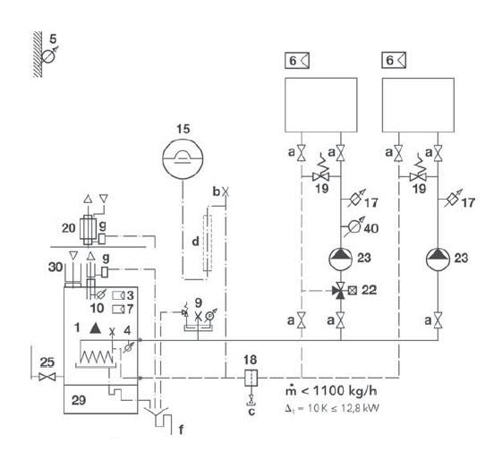 Hydraulikschema TRIGON S 22-1 Standard 3